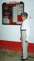Oscar Duda Risco fundador de la compañia de Bomberos de Jaén