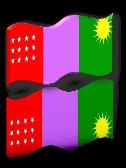 Bandera de Jaén-Perú