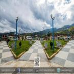 Vista Panorámica de la Plaza de Armas de Huarango