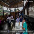 Almorzando en Santa Rosa en el restaurante Las Morenas